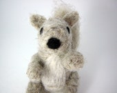 Eco Friendly Hello Squirrel - Wool Needle Felt Animal
