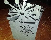 DIY Sparkle Happy birthday boxes set of six
