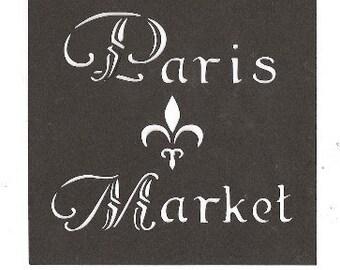 Paris Market 4x4