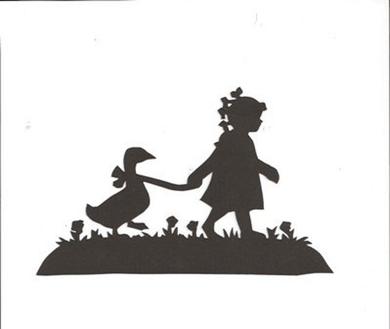 country girl silhouette by hilemanhouse on etsy