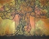 Jewish Art- Tree of Life II