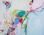 Aria- Mixed Media Original- 16x20, Beautiful, intricate abstraction