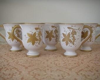 Vintage espresso cups