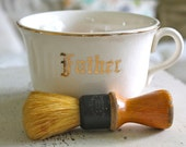 Reserved for Nicole Father's Day Mug and Mustache Brush Gift Set, Gift, Dad, Mustache Bash
