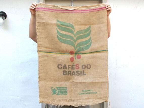Colorful Brazil Coffee Bag