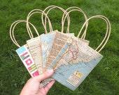 Eco Friendly Handle Kraft Gift Bags by Mayi Carles
