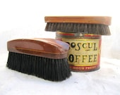 Vintage  Brush Set// Clothing// Shoe// Wooden// Man Gift  from Tessiemay