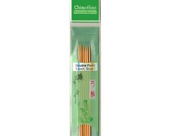 ChiaoGoo Bamboo DPN - 5 Inch