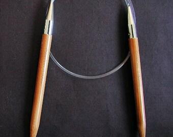 2024-15 24 Inch Size 15 (10.0mm) ChiaoGoo Bamboo Circular