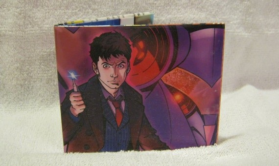 S C Comic Wallets - Doctor Who David Tennant Cover Wallet