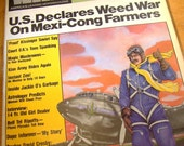 Vintage Collectable 1976 Copy of National Weed Magazine Hippie ReTRo