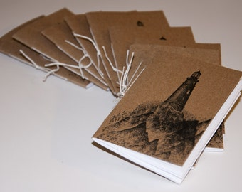 Lighthouse Mini Notebooks (set of 10)