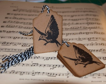 Flying Bird Gift Tags (set of 10)