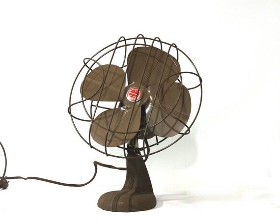 Industrial Electric Fan, Vintage Handy Breeze