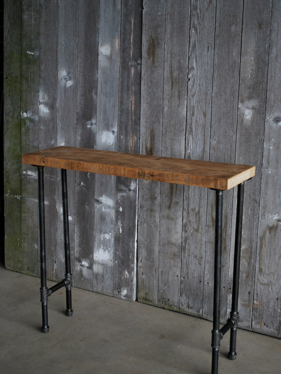 Items Similar To 4 Ft Industrial Console Table With Pipe