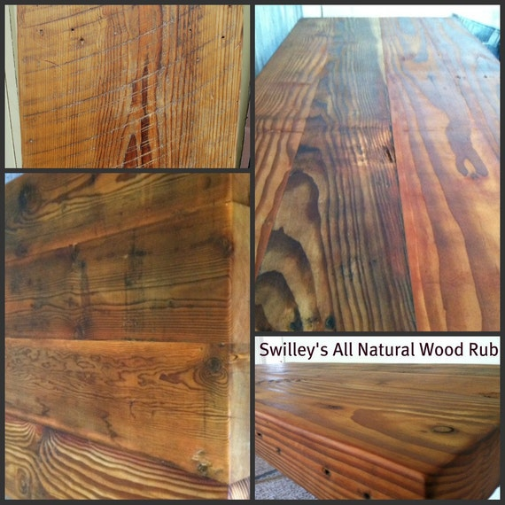 All-Natural Swilleys Beeswax Furniture Wood Rub for wood