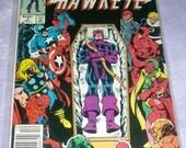 Marvel comic Hawkeye 1983