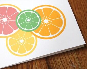 Citrus Notecards