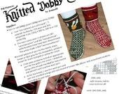 Pdf Pattern: Knitted Dobby Socks