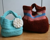 Crochet pattern Vintage inspired handbags (41) TWO designs in the same pattern - Welcome to sell your work from this pattern