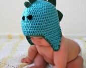 Crochet hat Pattern dinosaur hat pattern boy hat pattern boy pattern dinosaur pattern includes 5 sizes (92)