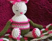 Baby blanket crochet pattern with amigurumi bunny doll pattern bunny rabbit amigurumi pattern crochet baby blanket (103)