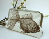 Goldfish KissLock Clutch