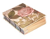 Vintage Rose Coptic Bound Journal