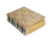 Aqua Handmade Journal with Rustic Flare