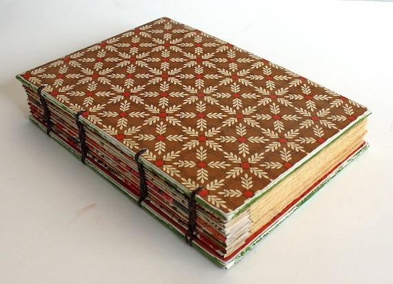 Autumn  Coptic Bound Journal