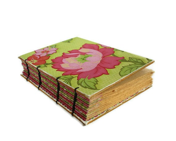 May Flowers Coptic Bound Journal