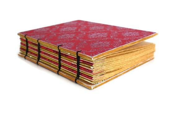 Pretty in Pink Coptic Bound Journal