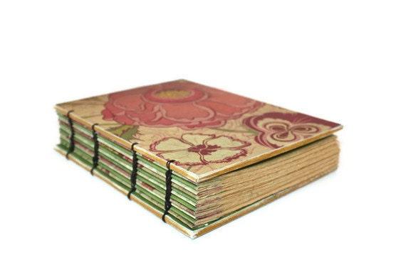 Vintage Floral Coptic Bound Journal
