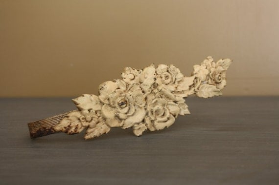 Vintage Shabby Chic Curtain Tie Backs/Pull Back