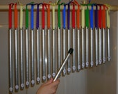 Handmade Pipe Chimes, 21 piece set  and Mallet