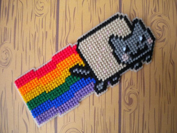 Black Friday / Cyber Monday Sale: Nyan Cat Magnet or Pin