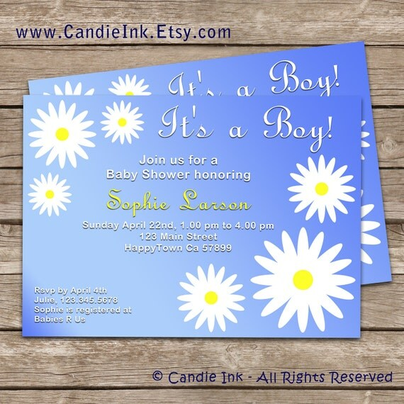 items similar to baby shower invitations thank you cards digital