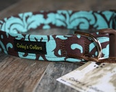 """Dog Collar """"Victoria Damask"""""""