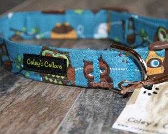 "Dog Collar ""What a Hoot"""