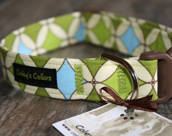 "Dog Collar  ""The Barkley Custom Adjustable Dog Collar"""