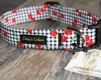 "Dog Collar ""The Cherry on Top"""