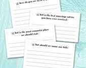 Printable Guest Book Cards