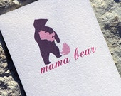 Cute Mothers Day Card For Mom Mama Bear