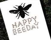 Bumble Bee Card for Birthday