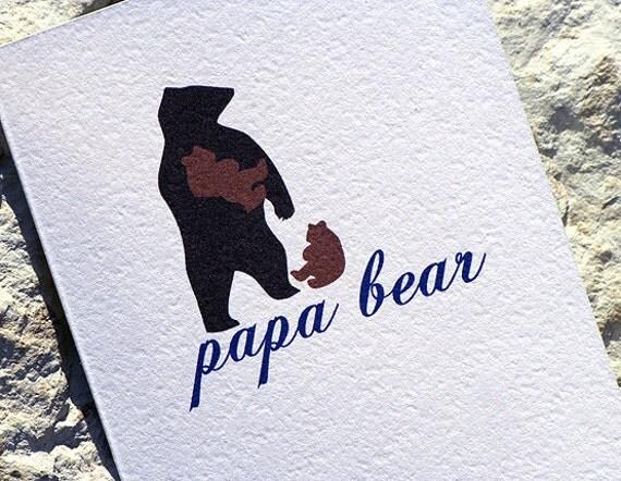 Custom listing for megdoyle420 - 8.5 x 11 Papa Bear print