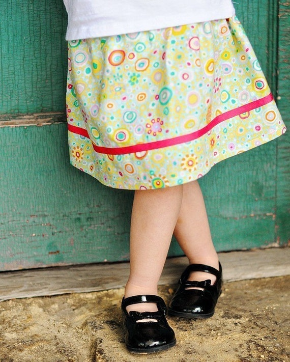 Baby, toddler, girls spring skirt. . . 12 months, 18 months, 2t, 3t, 4t, or 5t... Fun and Fancy