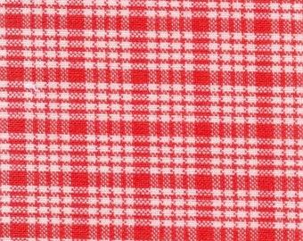 Apple Pie Wovens, American Jane Patterns in Red, by Sandy Klopp for Moda, 1 yard