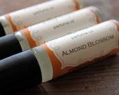 Almond Blossom -Perfume Oil. Mellow Organic Vanillas, Orchid - orangethyme
