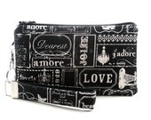 Love wristlet is perfect for Bride