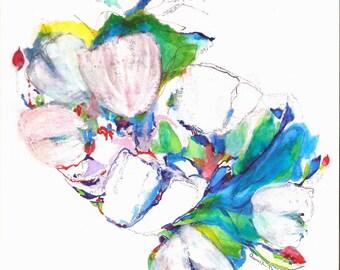 SPRING DANCE (After Tulipa II) Digital Print